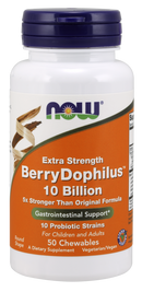 Now Foods Extra Strength Berry Dophilus 50 Chewables