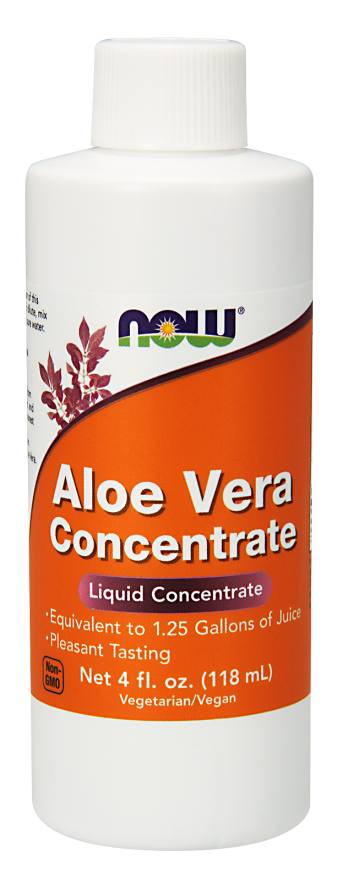 Now Foods Aloe Vera Concentrate 4 fl oz (118 ml)