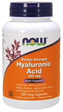 Now Foods Hyaluronic Acid 100 mg 120 Veg Capsules