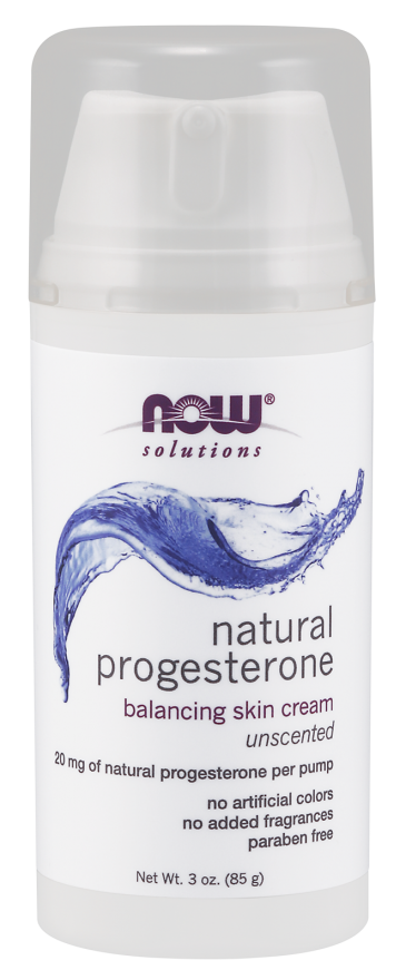 Now Foods Natural Progesterone Balancing Skin Cream 3 oz