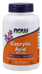 Now Foods Caprylic Acid 600 mg 100 Softgels