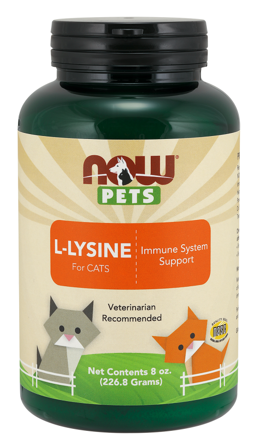 Now Foods L-Lysine for Cats 8 oz