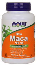 Now Foods Maca Raw 750 mg 90 Veg Capsules