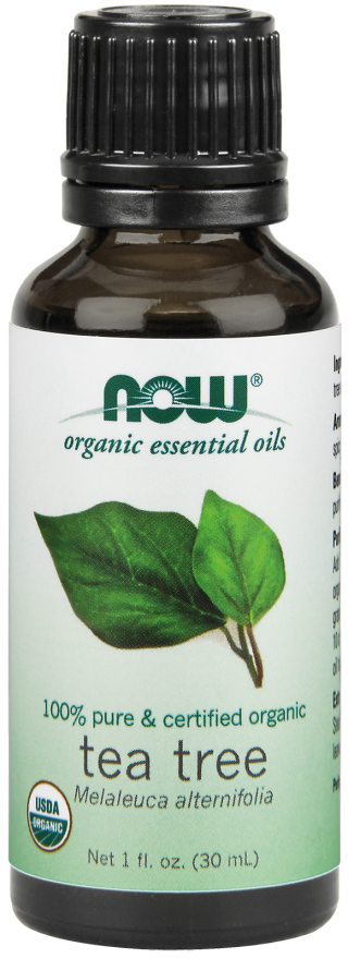 Now Foods Essential Oils Tea Tree 100% Pure & Certified Organic 1 fl oz
