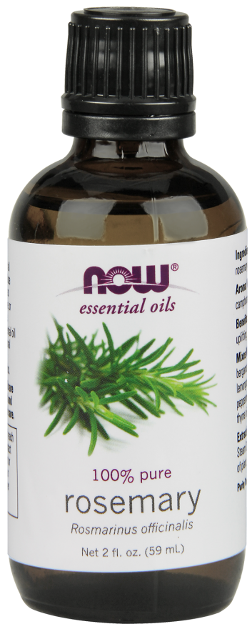 Now Foods Essential Oils Rosemary 2 fl oz