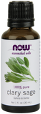 Now Foods Essential Oils Clary Sage 1 fl oz