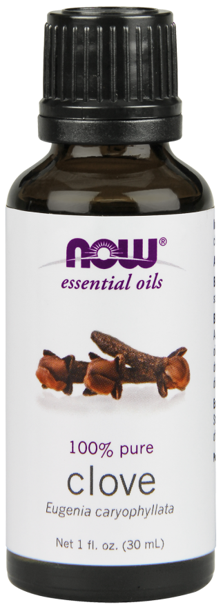 Now Foods Essential Oils Clove 1 fl oz