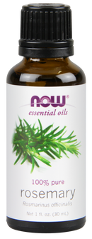 Now Foods Essential Oils Rosemary 1 fl oz