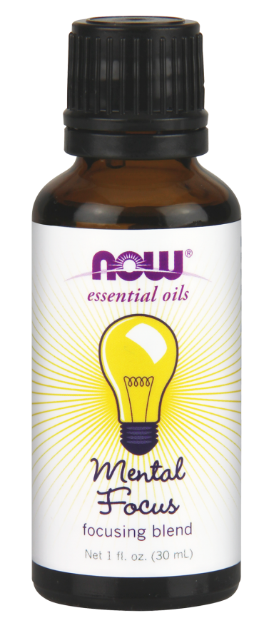 Now Foods Essential Oils Mental Focus 1 fl oz