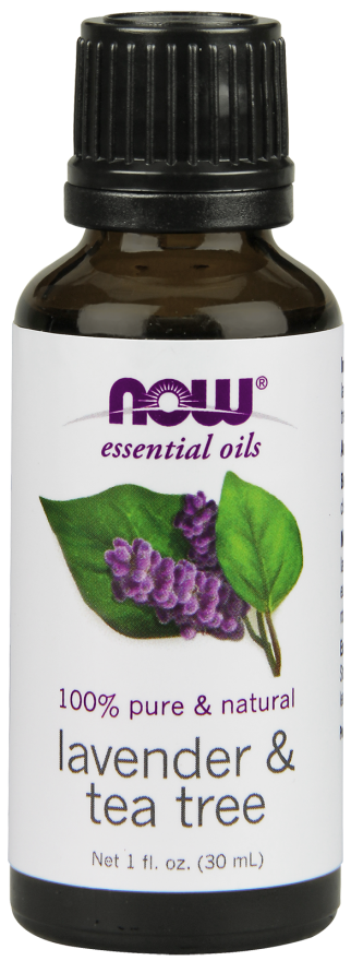 Now Foods Essential Oils Lavender & Tea Tree 1 fl oz