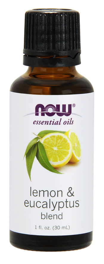Now Foods Essential Oils Lemon & Eucalyptus 1 fl oz