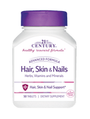 21st Century Hair, Skin & Nails 50 Tablets