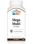 21st Century Mega Multi For Men 90 Tablets