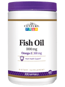 21st Century Fish Oil 1,000 mg 300 softgels