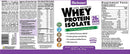 Bluebonnet Nutrition Whey Protein Isolate Powder Original 2.2 lb