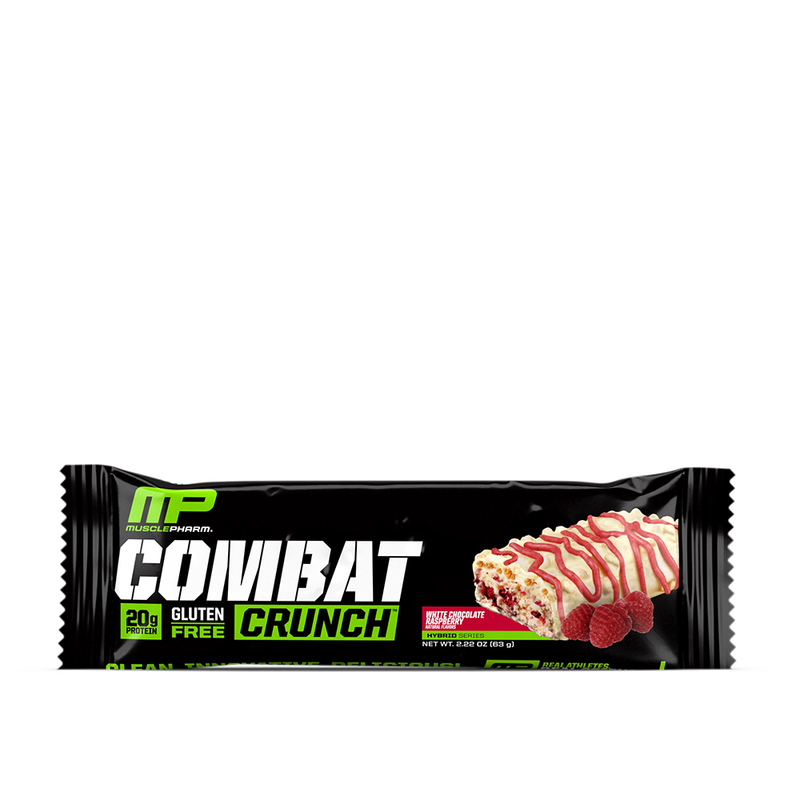 Musclepharm Combat Crunch White Chocolate Raspberry 12 Bars