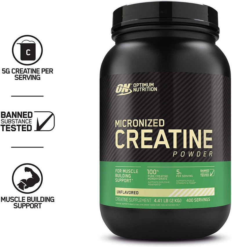 Optimum Nutrition Micronized Creatine Powder Unflavored 4.4 lb