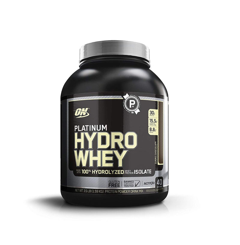 Optimum Nutrition Platinum Hydro Whey Turbo Chocolate 40 Serving 3.5 lb