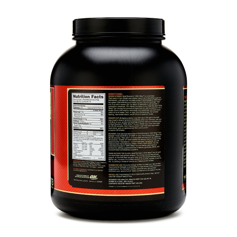 Optimum Nutrition Gold Standard 100% Whey Delicious Strawberry 5 lb