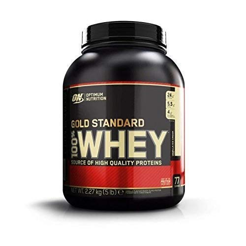 Optimum Nutrition Gold Standard 100% Whey Vanilla Ice Cream 5 lb