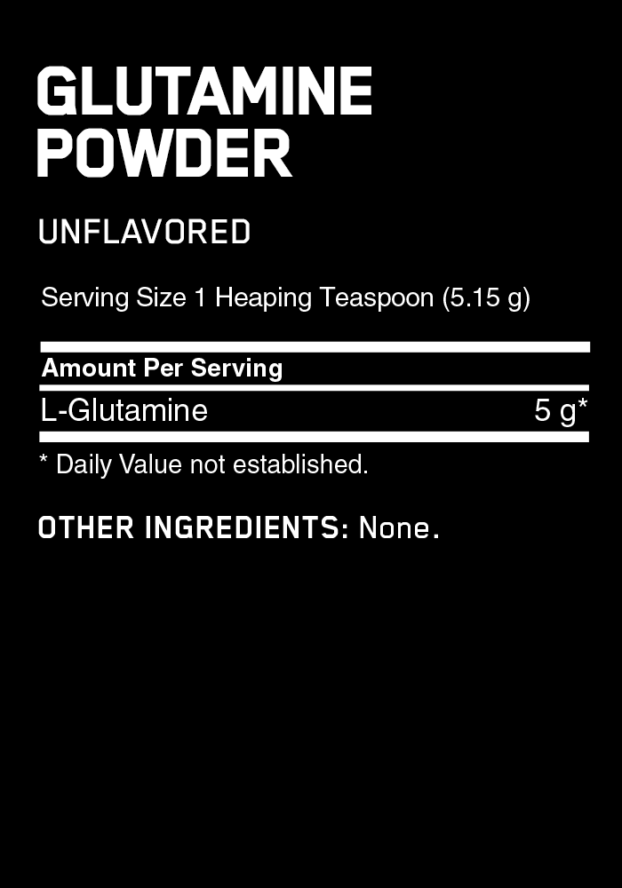 Optimum Nutrition Glutamine Powder 35.2 oz