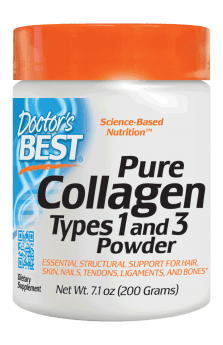Doctor's Best Pure Collagen Types 1&3 Powder 7.1 oz