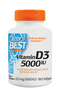 Doctor's Best Vitamin D3 5,000 IU 360 Softgels