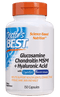 Doctor's BEST Glucosamine Chondroitin MSM + Hyaluronic Acid 150 Capsules