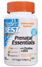 Doctor's BEST Prenatal Essential with Choline & DHA 120 Veg Softgels