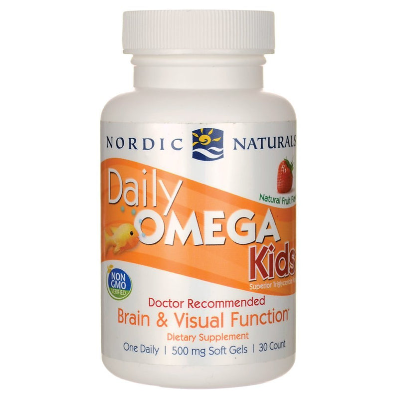 Nordic Naturals Daily Omega Kids 30 Chewable Softgels