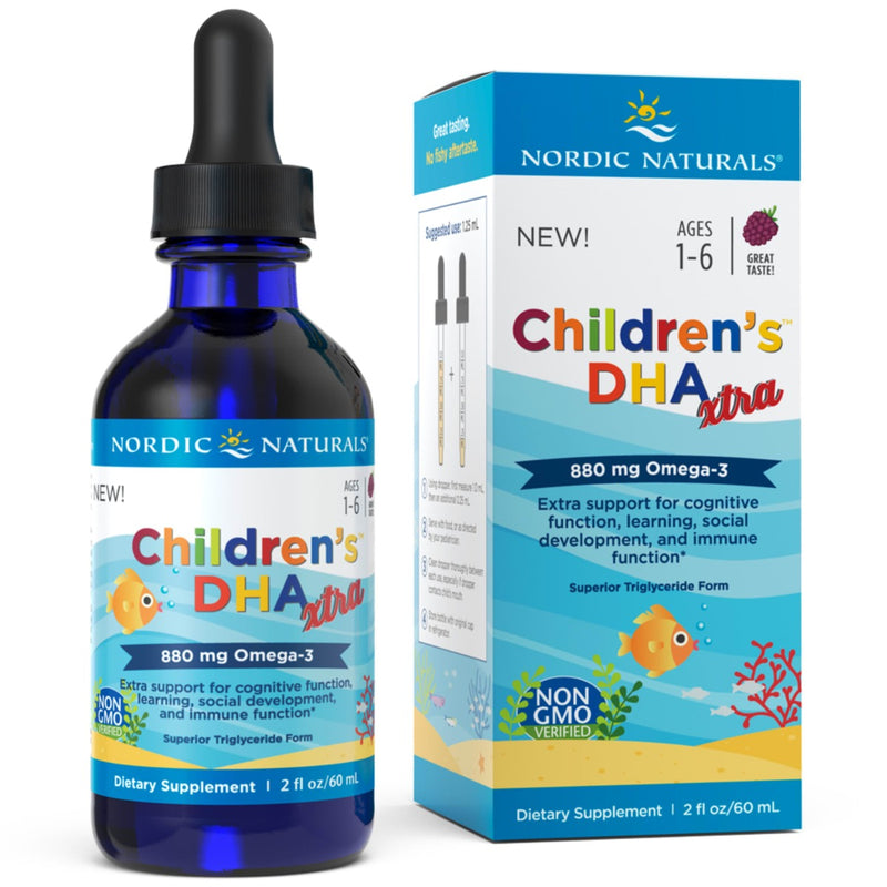 Nordic Naturals Childrens DHA Xtra 880 mg 2 fl oz