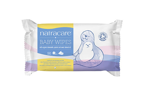 NatraCare Baby Wipes 50 Wipes