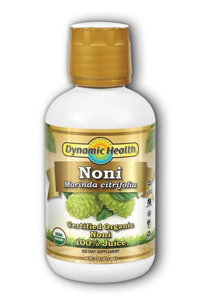 Dynamic Health Noni Juice Tahitian Organic Certified 16 fl oz