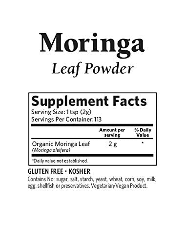 Organic India Organic Moringa Leaf Powder 8 oz