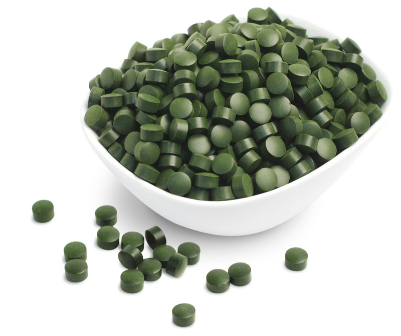 Sunfood Broken Cell Wall Chlorella Tablets 4 oz