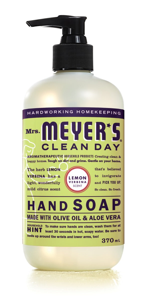 Mrs. Meyer's Hand Soap Lemon Verbena 12.5 fl oz
