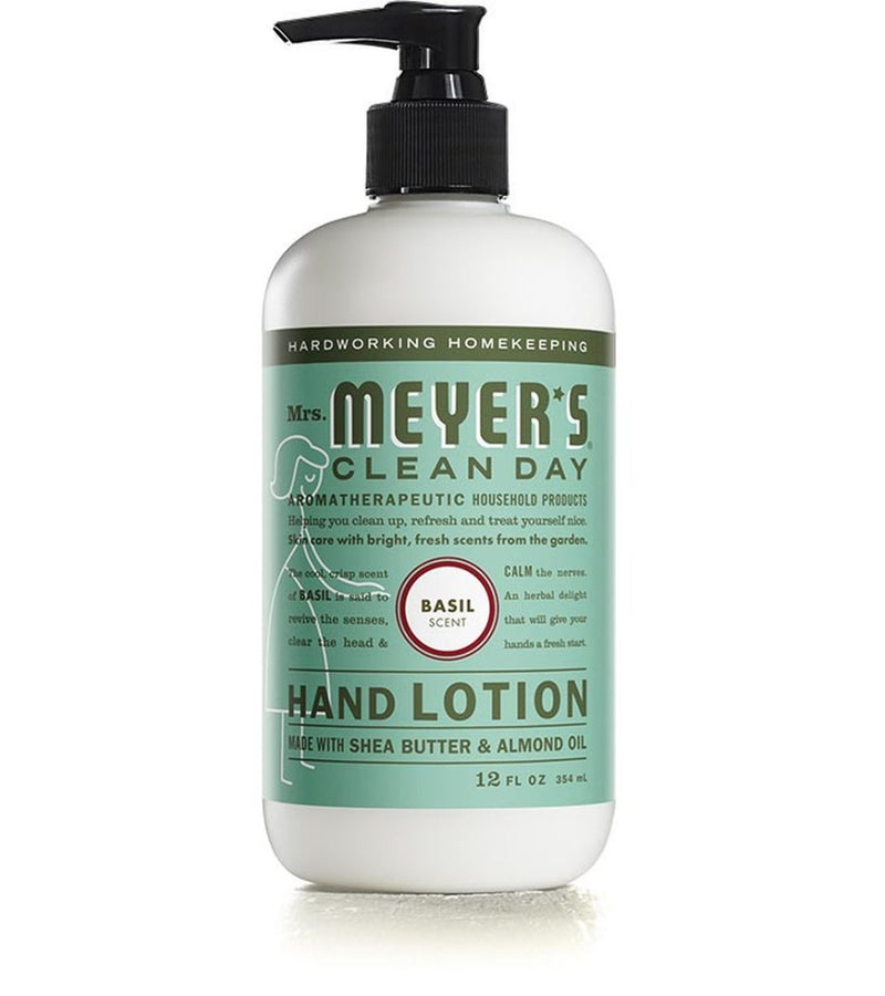Mrs. Meyer's Hand Lotion Basil 12 fl oz