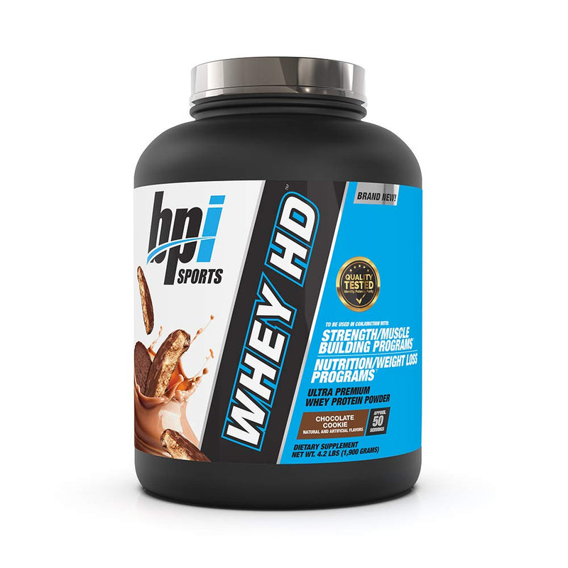 BPI Sports Whey HD Chocolate Cookie 4.2 lb
