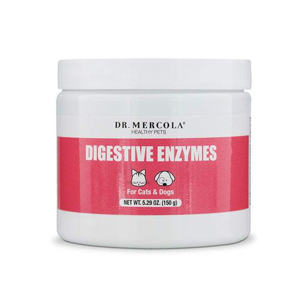 Dr. Mercola Digestive Enzymes for Pets 5.29 oz