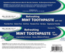 Dr. Mercola Refreshing Mint Toothpaste with Tulsi Cool Mint 3 oz
