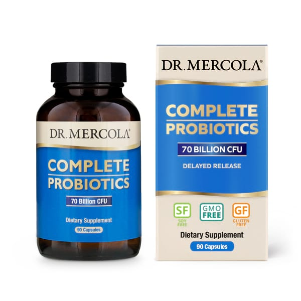 Dr. Mercola Complete Probiotics 70 Billion CFU 90 Capsules