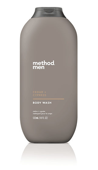Method Men Body Wash Cedar Cypress 18 fl oz