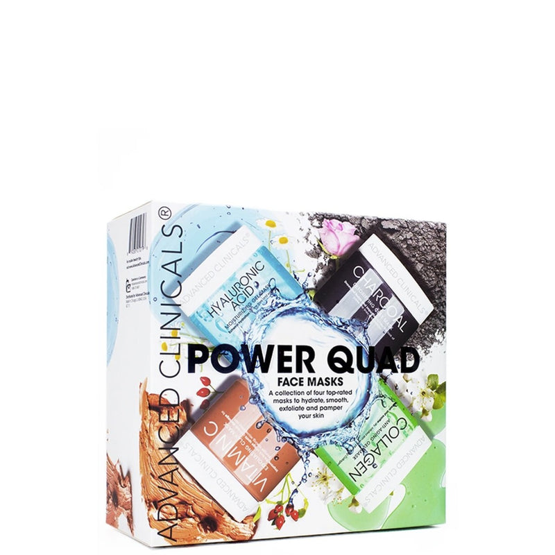 Advanced Clinicals Power Quad Face Mask Set 1 Set