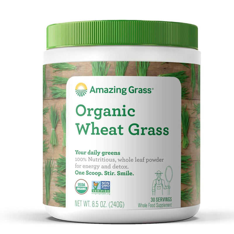Amazing Grass Organic Wheat Grass 8.5 oz
