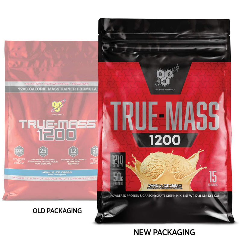 BSN True-Mass 1200 Vanilla Ice Cream 10.25 lb