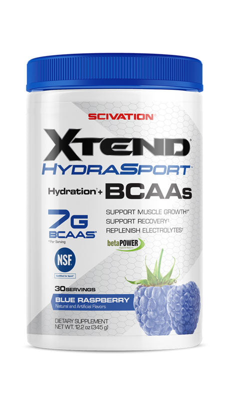 Scivation Xtend HydraSport Blue Raspberry 30 Servings 12.2 oz