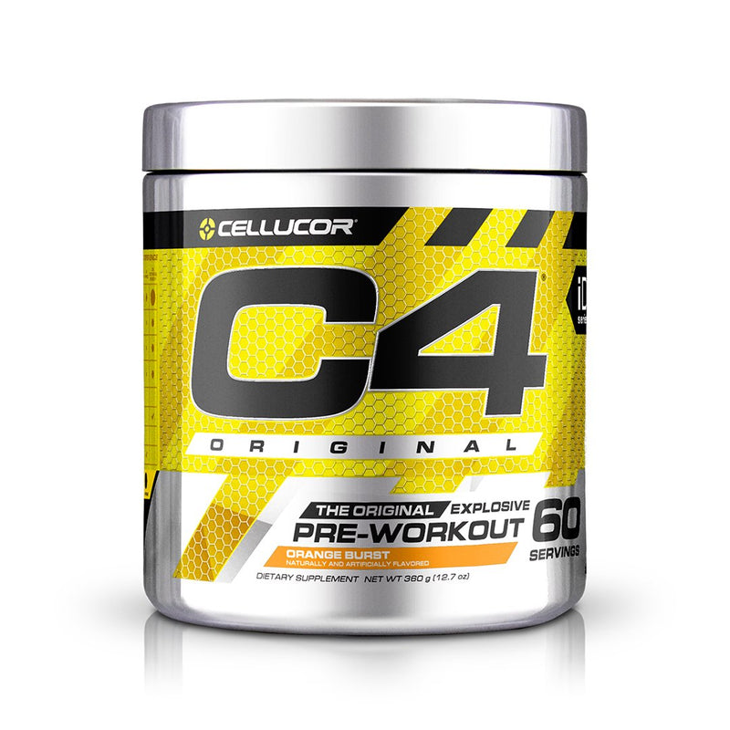 Cellucor C4 Original Explosive Pre-Workout Orange Burst 60 Servings 12.7 oz