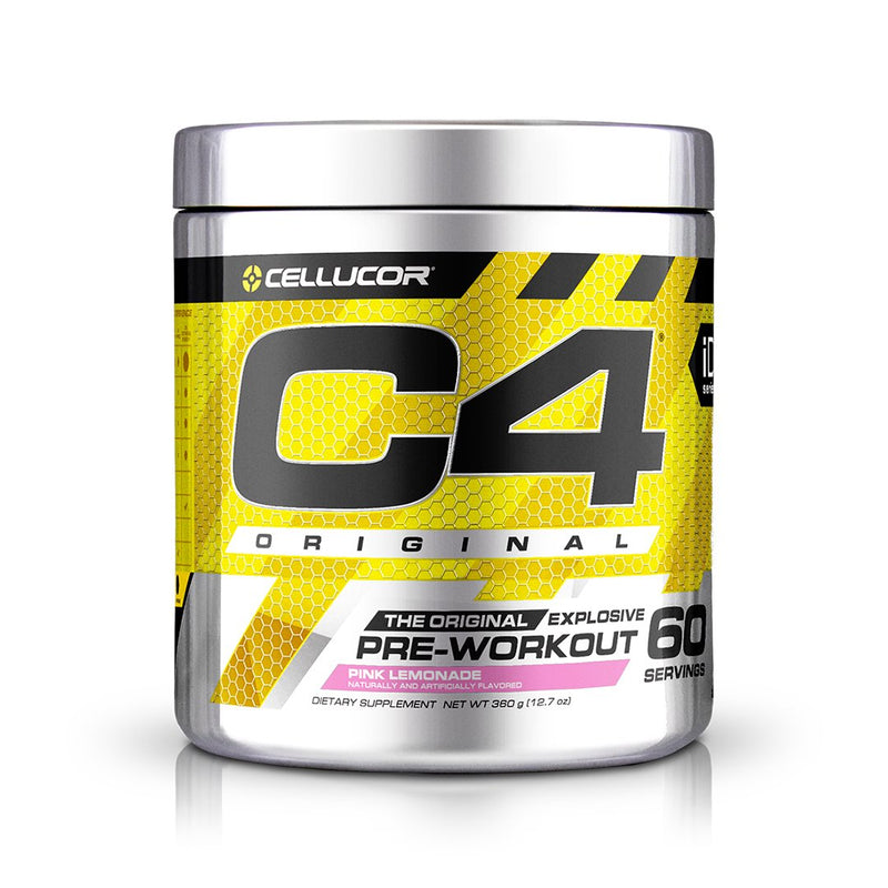 Cellucor C4 Original Explosive Pre-Workout Pink Lemonade 60 Servings 13.8 oz