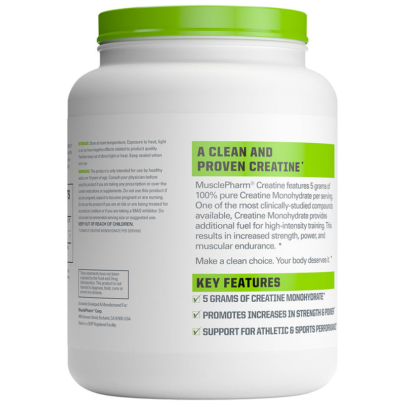 Musclepharm Creatine 200 Servings 2.2 lb