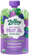 Zellee Organic Fruit Gel with Vitamin C Blueberry Grape 3.5 oz